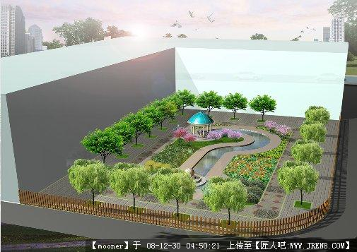 校园绿地景观设计图分享展示