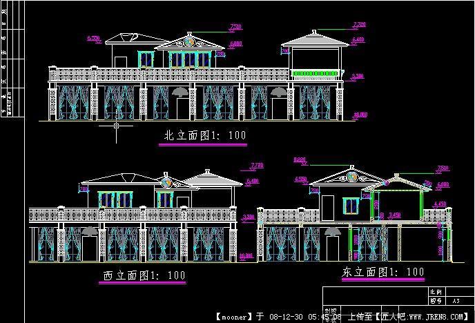 定鼎园林茶室设计图