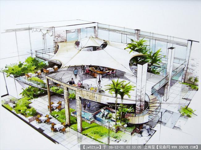 《设计与表达》精彩马克笔手绘完整版的下载地址,建筑