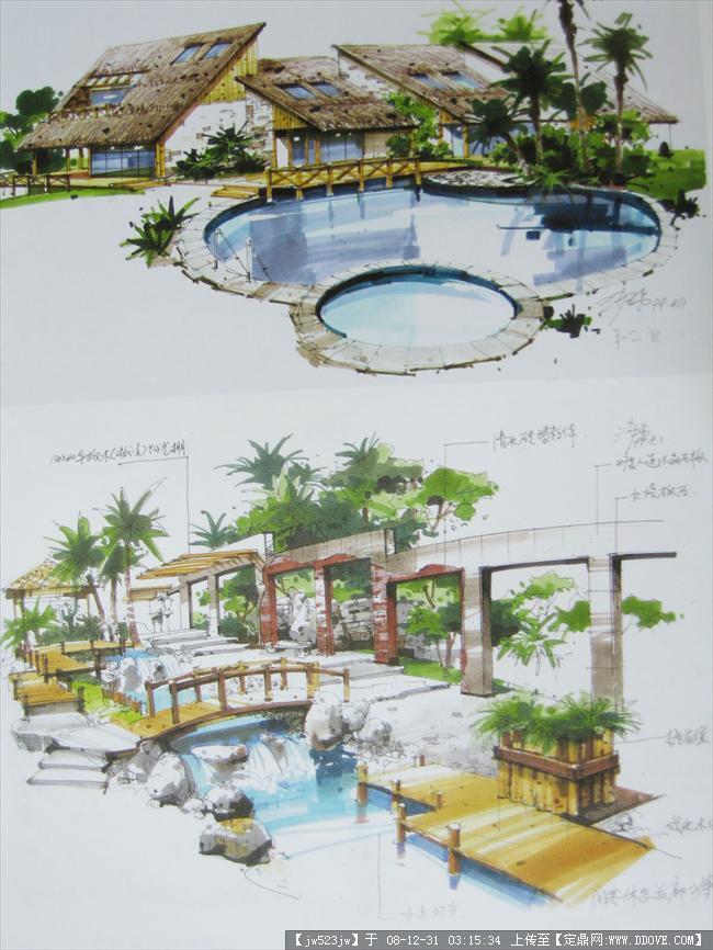 《设计与表达》精彩马克笔手绘完整版图片