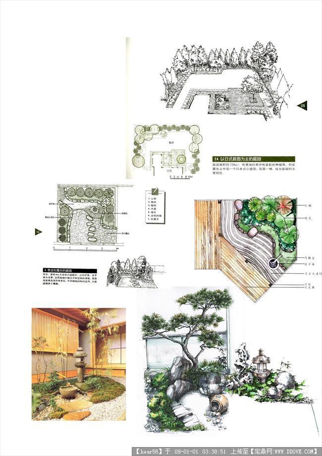 欧式日式庭院设计方案图