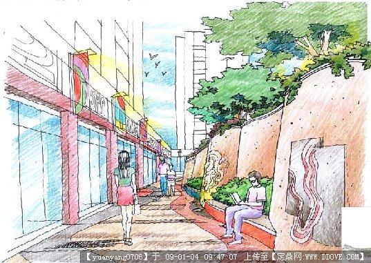 深圳某居住区景观设计方案