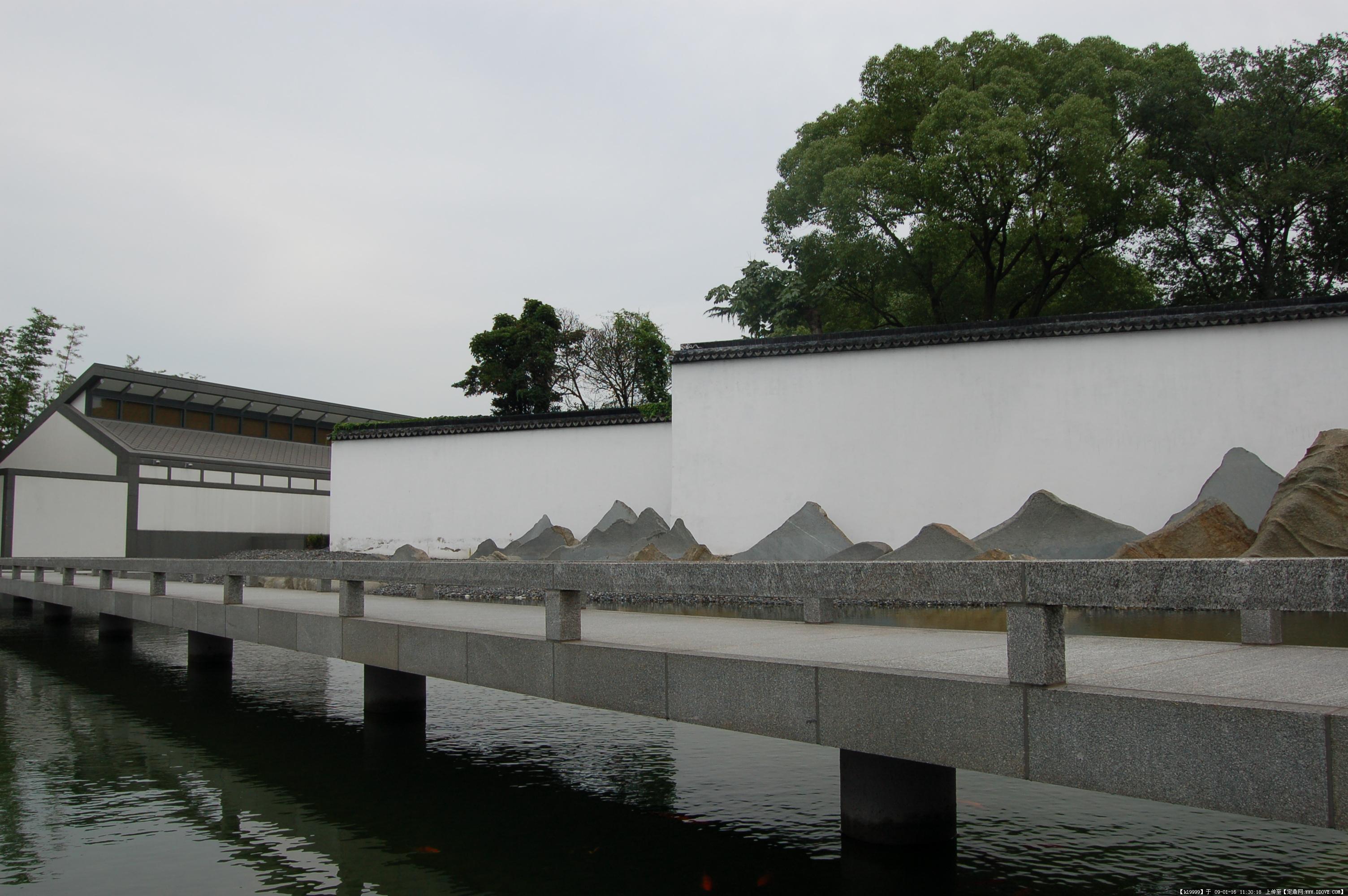 苏州博物馆实拍照片