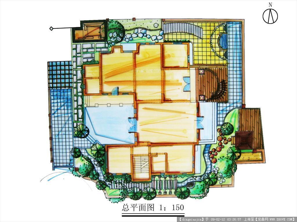 原创别墅庭院设计