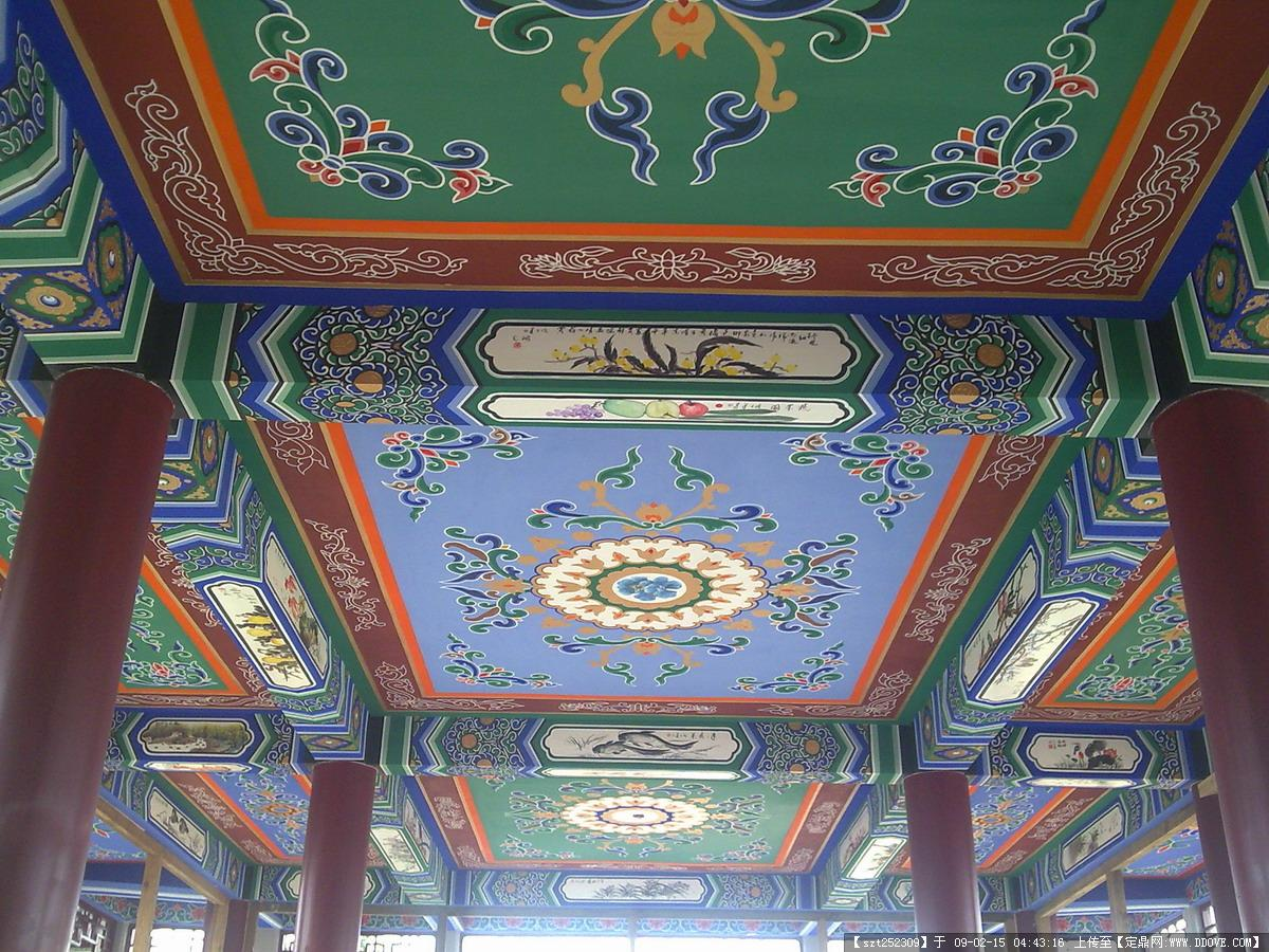 建筑彩绘的图片浏览,建筑实景照片,中国古建,建筑设计