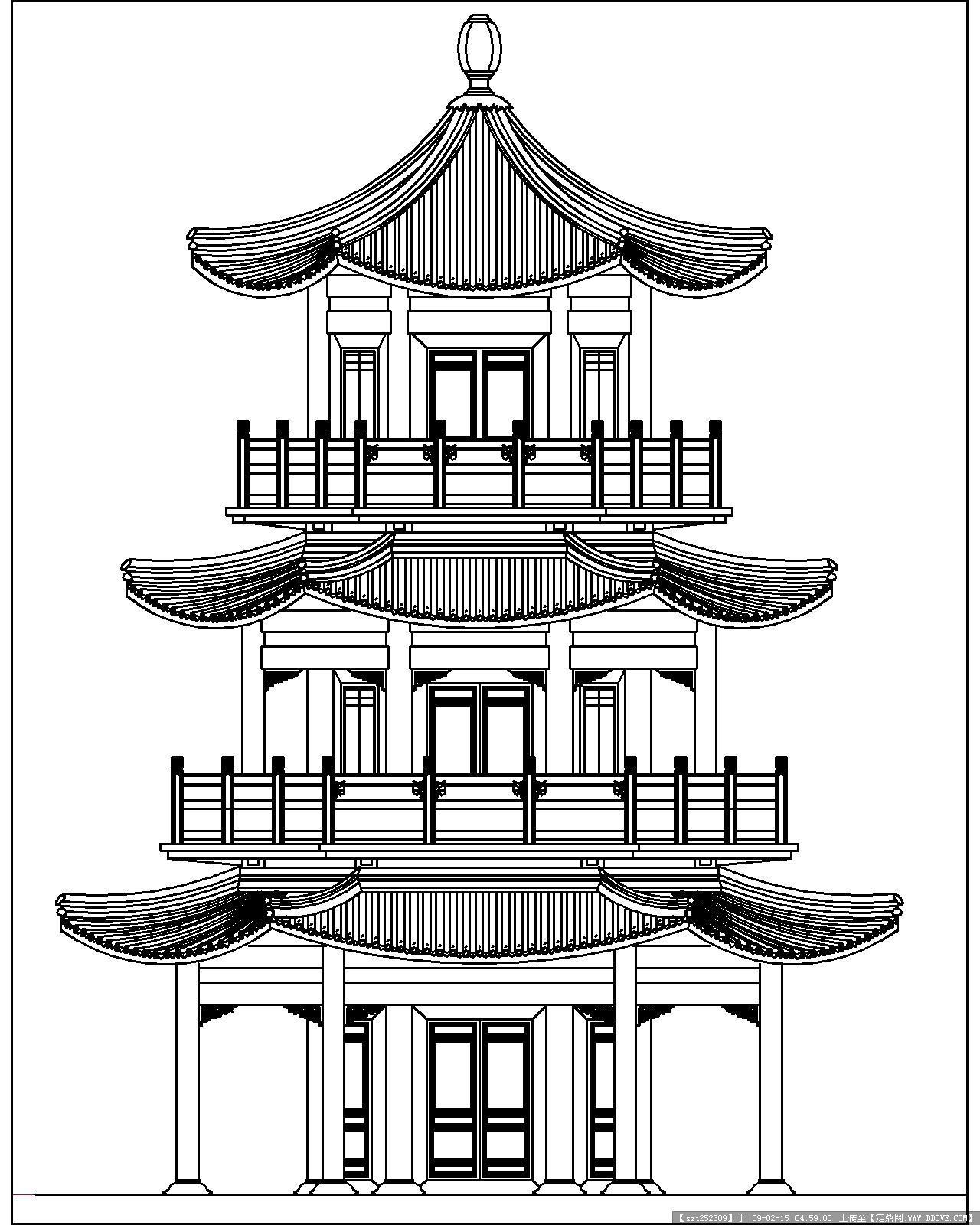 古建筑图纸的图片浏览,建筑方案图纸,中国古建,建筑