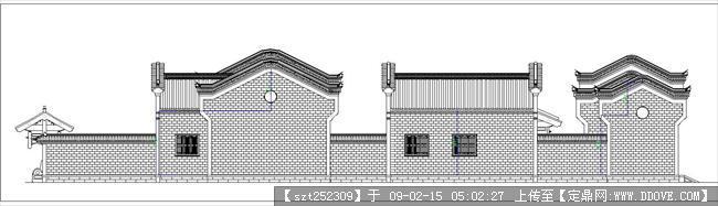 古建筑图纸-四合院侧面.jpg