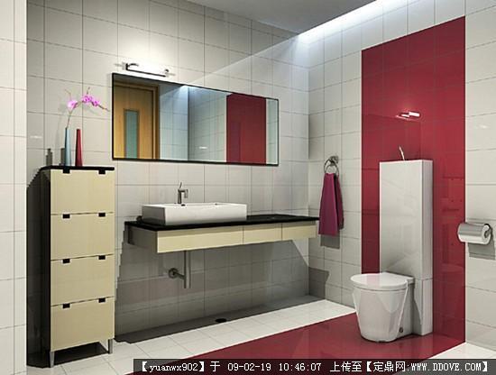 北京室内设计装修效果图卫生间