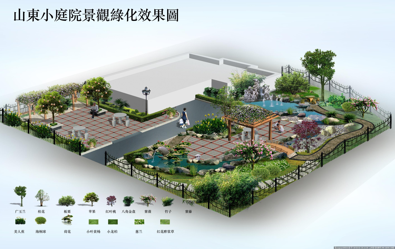 小庭院效果图的图片浏览,园林效 果图,花园庭院,园林