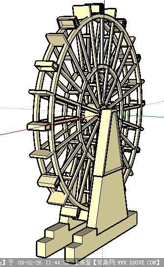 筷子结构模型建筑