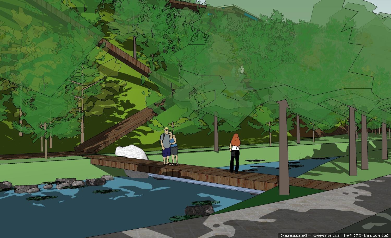 一组滨水景观效果图的图片浏览,园林效 果图,滨水景观