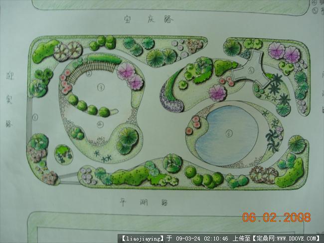 游园设计手绘平面图,游园cad平面图,小区游园设计平面图,学校小游园