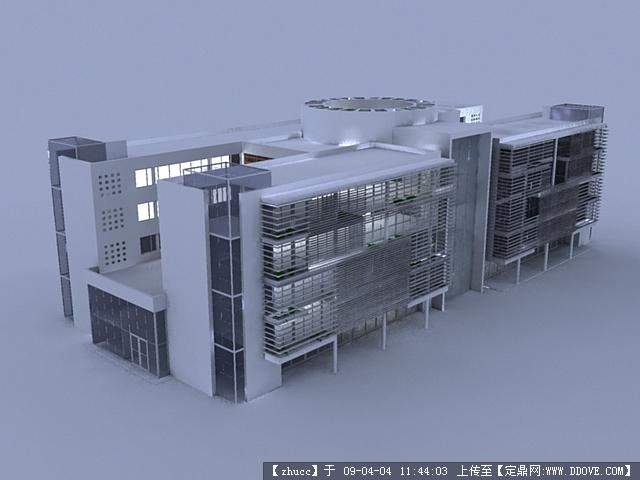 模型sketchup医院恒达富士图纸扶梯图片