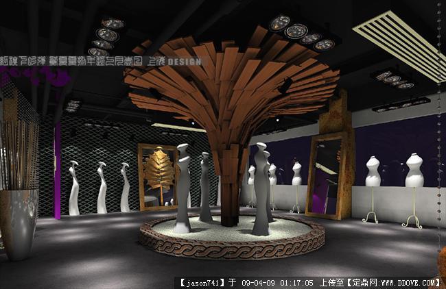 展示区no1; 家具展示设计说明;; 红旗下的弹的设计师家园:::红旗下的