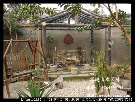 别墅庭院景观-庭院景观农家小院风格.jpg 原始尺寸:466 * 351
