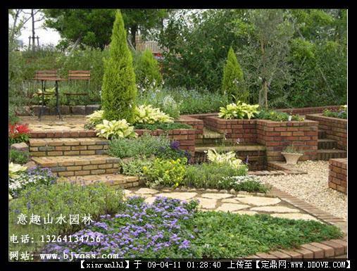 别墅庭院景观-景观花坛.jpg 原始尺寸:507 * 385