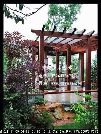 别墅庭院景观工程案例欣赏实景照片
