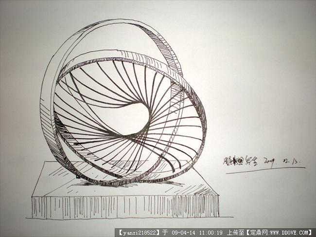 在校生钢笔画写生的图片浏览,园林效 果图,手绘效果,.