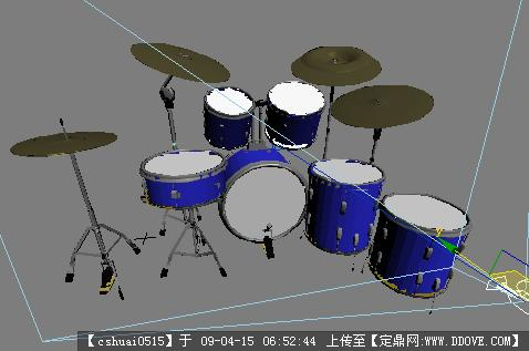 蔡贝尔架子鼓演奏小情歌--蓝精灵架子鼓学员在线视频; 3d家具模型;