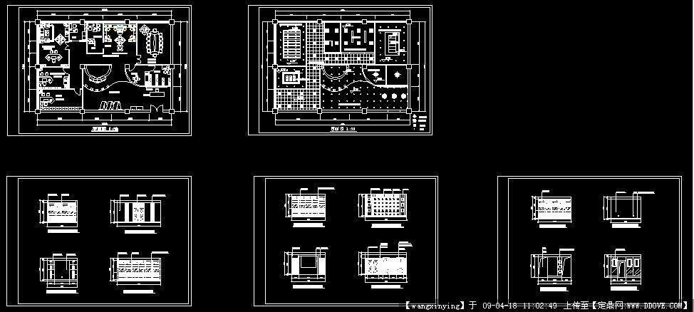 居住空间设计平面图图片