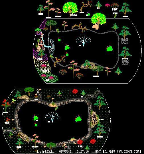 电子书 中国古典园林分析图书资料 居住小区设计方案cad图纸 乡村规划图片