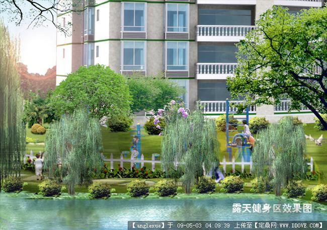 小区景观设计图的图片浏览,园林方案设计,居住区,园林
