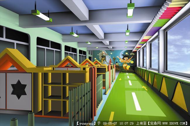 南京世纪星幼儿园装修设计方案的图片浏览