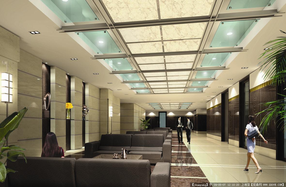 杭州某医院门诊大楼装修效果图的图片浏览,室内效 果