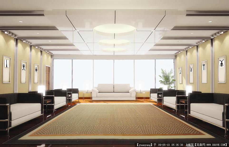 威海国贸大厦主楼装修效果图