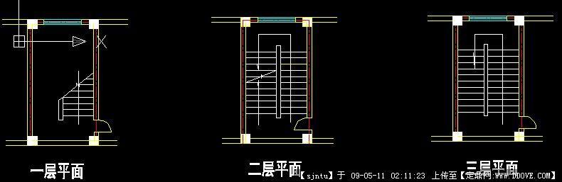 楼梯平面设计图