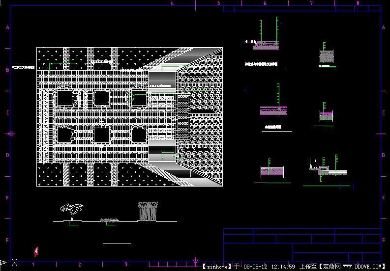 铺装设计CADcad哪个标批处理式是图片