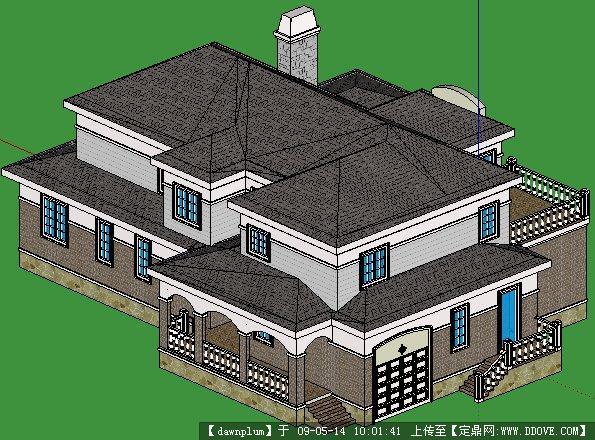 双层别墅(sketchup)模型