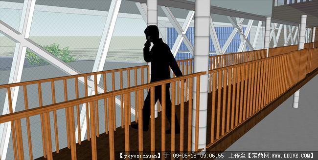 我的图书馆设计-空中廊道.jpg;; 公共建筑效果图集四的图片浏览;