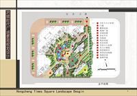 某居住区景观规划设计-毕业设计图片