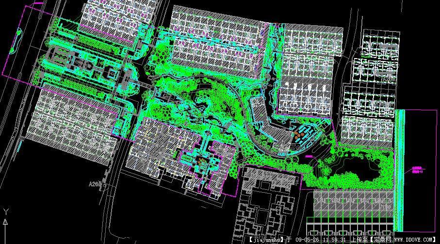 绿施-06种植总平面图