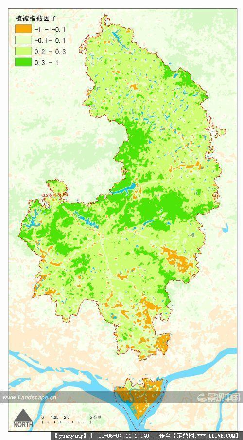 生态基础设施导向的区域空间规划战略——广州市萝岗区实证研究