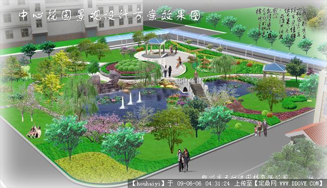 小游园_小游园平面图,小游园设计; 小区小游园规划设计图纸; 小区小
