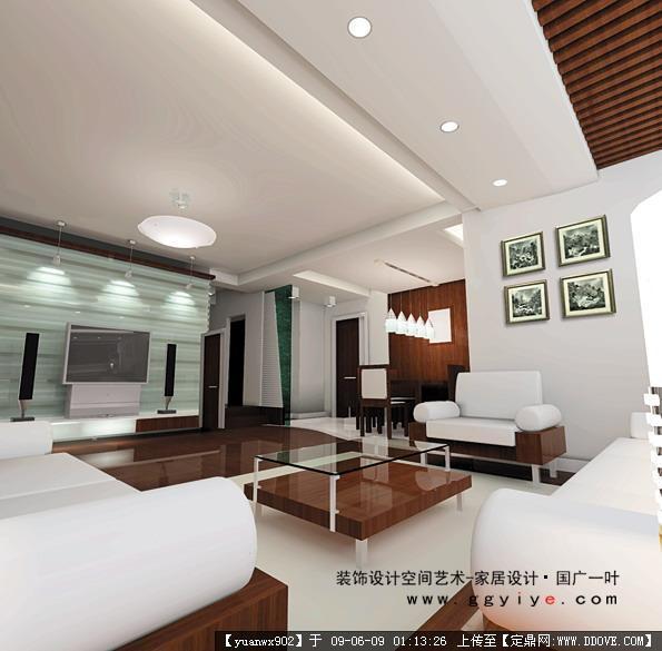 现代图纸装饰设计效果图的图片v图纸,室内效果130液压缸客厅图片