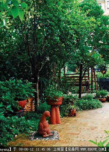 定鼎网 定鼎园艺 园艺设计 花园庭院 自建欧式情调花园的三个步骤
