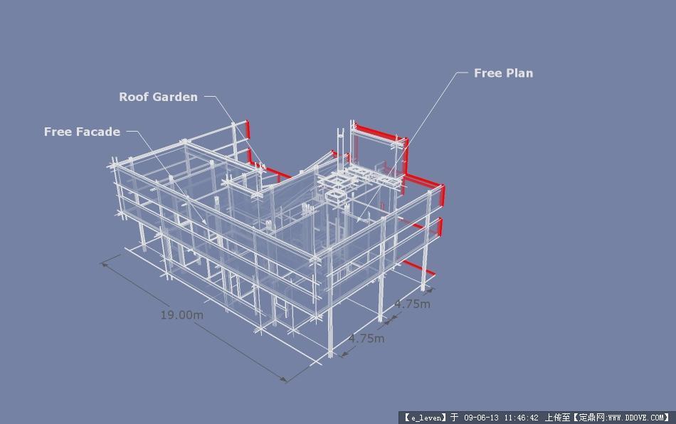 萨伏伊别墅sketchup模型的下载地址图片