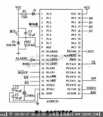 接收部分为超再生模块电路