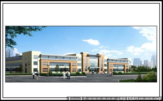 某办公楼建筑效果图17张的书吧v书吧,建筑设计理念图片图片
