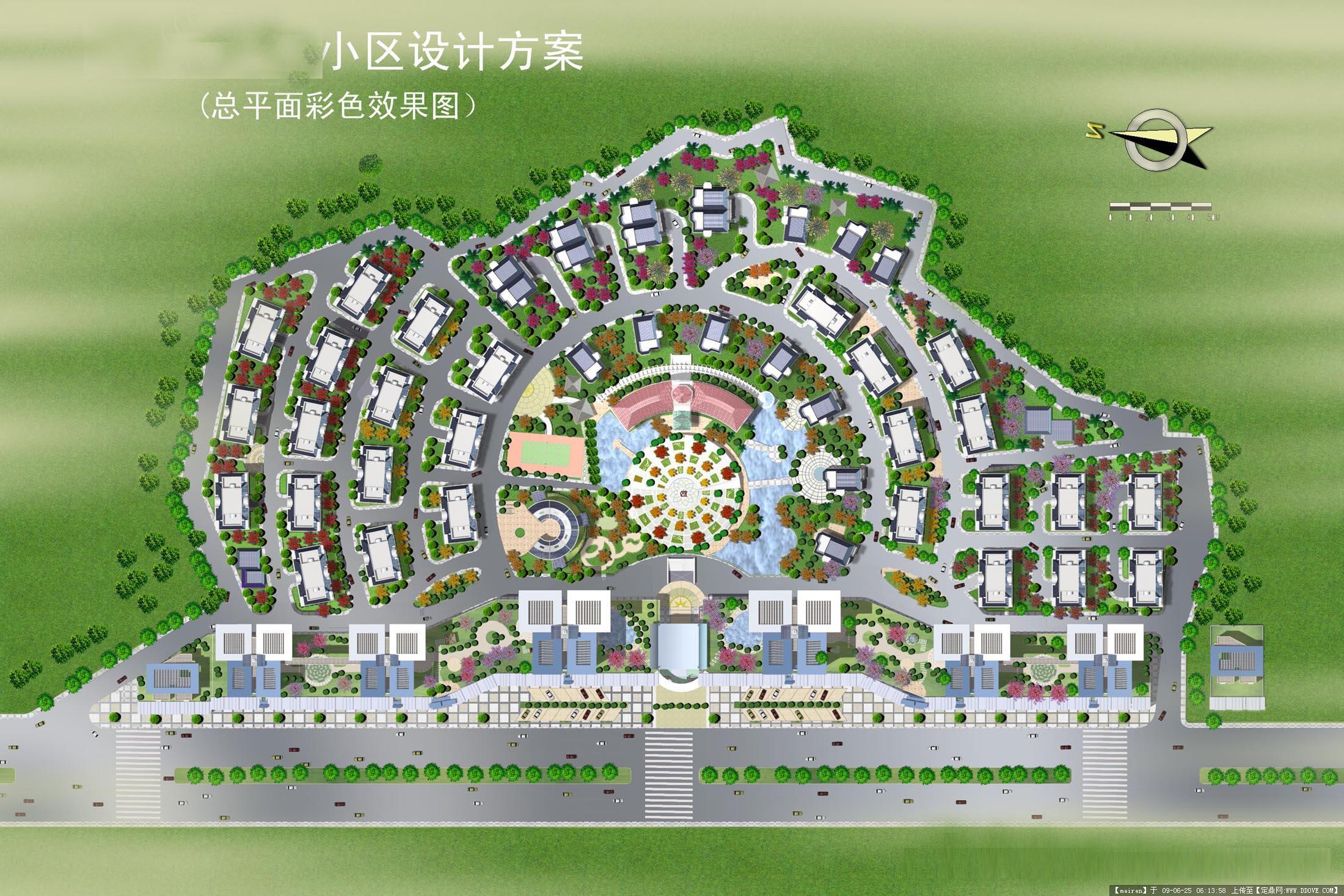 居住区快题 居住区规划设计3.图片
