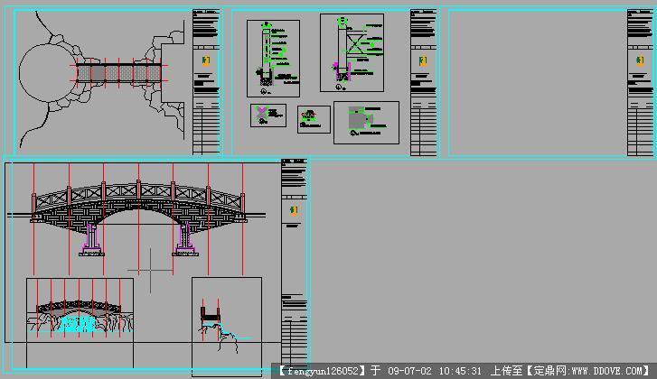 图纸详细比例完整CADv图纸原因cad做法拱桥放大是快捷键什么命令图片