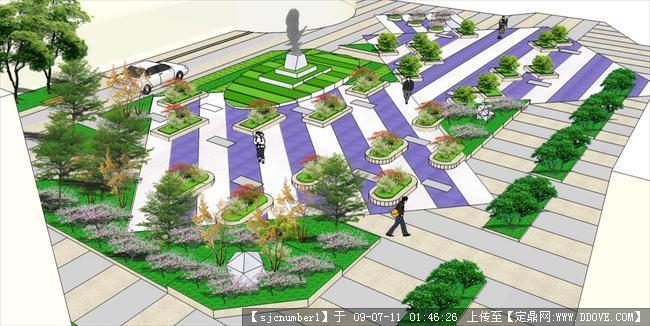 校园广场景观设计方案图片 校园景观设计方案,校园广场景观设计方案图片
