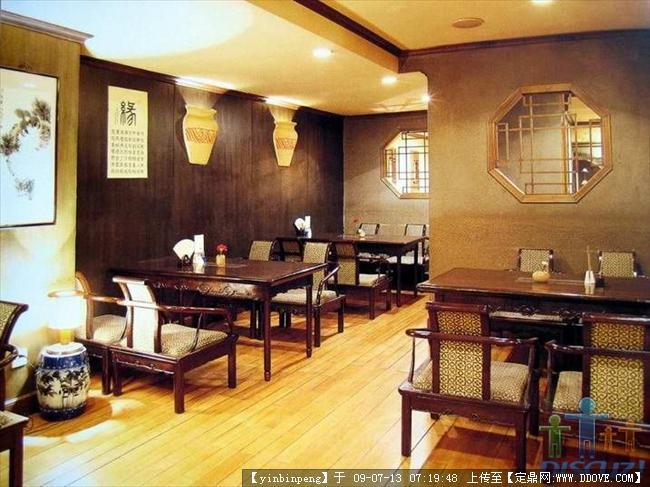 中式茶楼室内装饰效果图方案