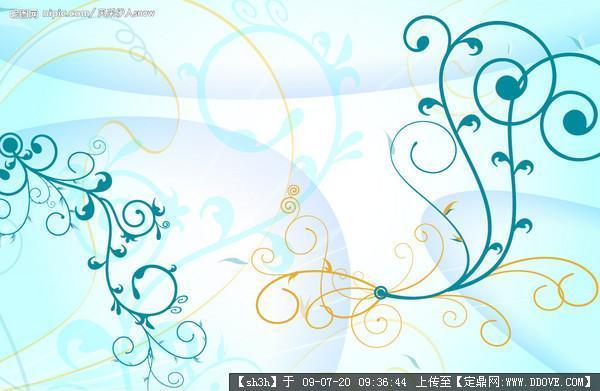 室内装饰材料花型-------墙纸