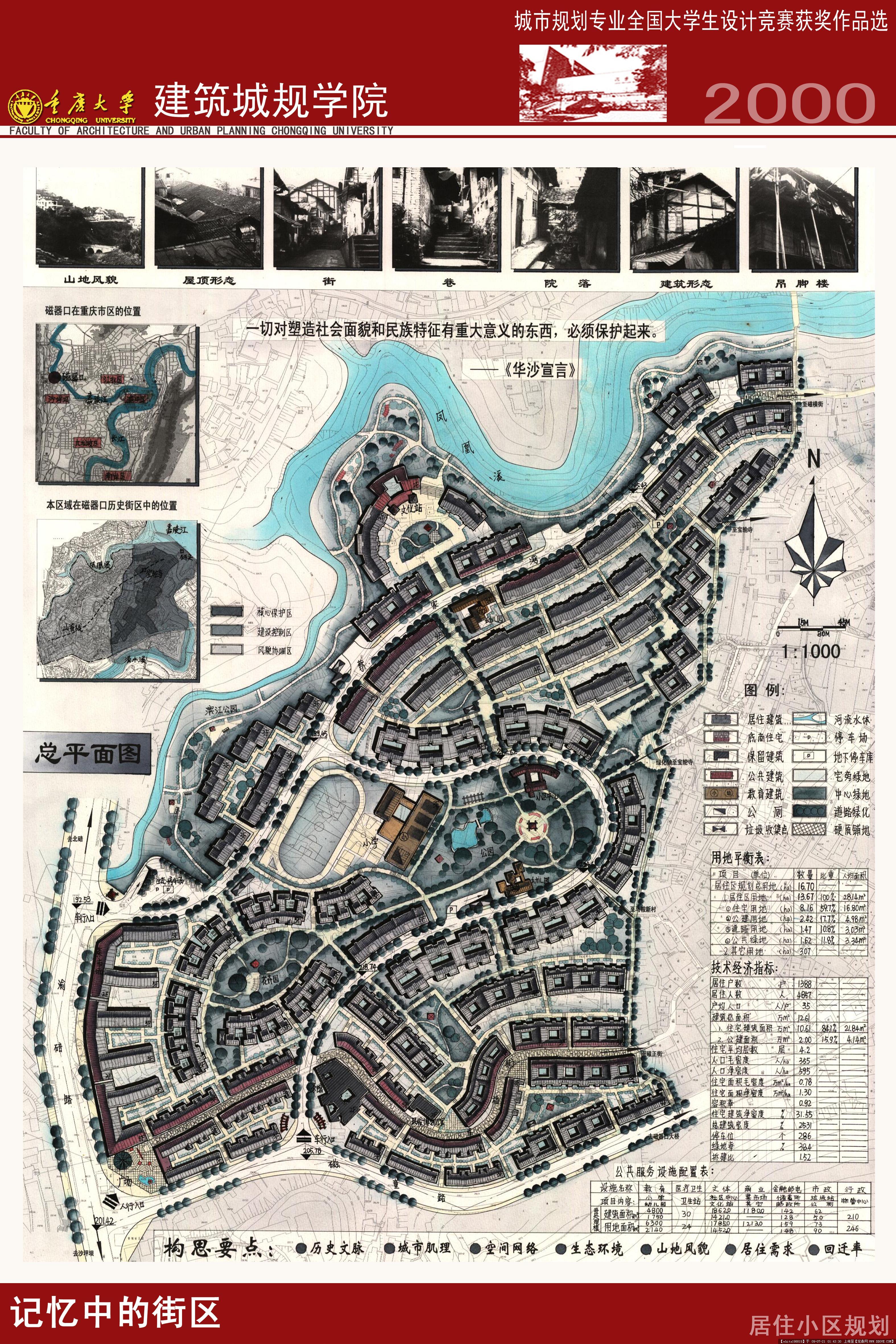 城市规划专业全国大学生设计竞赛获奖作品选