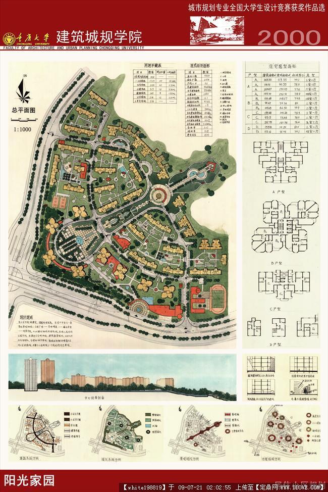 城市规划专业全国大学生设计竞赛获奖作品选-附录06