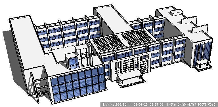 图纸v图纸模型Sketchup图纸西贝小学厨房图片